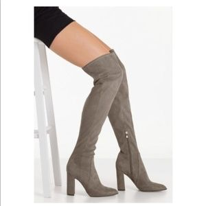 "NEW! MARC FISHER ""PRAYE"" Over-The-Knee Boots"